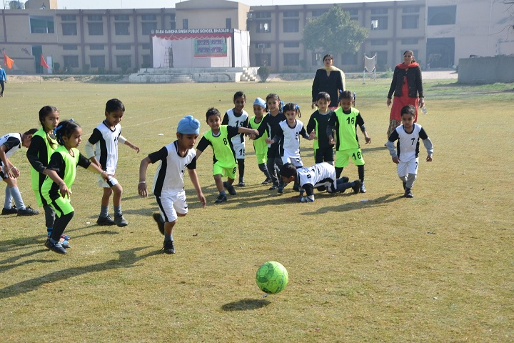Baba Gandha Singh Public School-Sports football