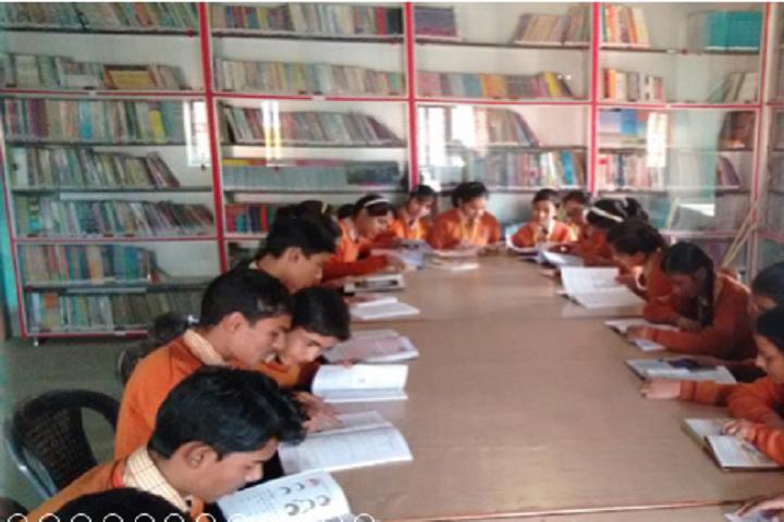 Gyan Jyoti Residential Public School-Library