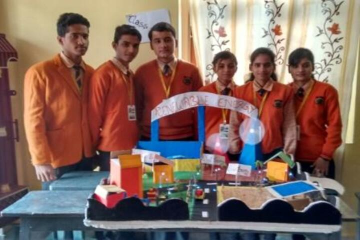 Gyan Jyoti Residential Public School-Science Exhibition