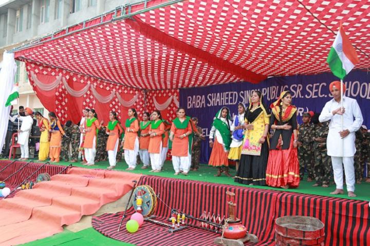 Baba Shaheed Singh Public School-Events programme