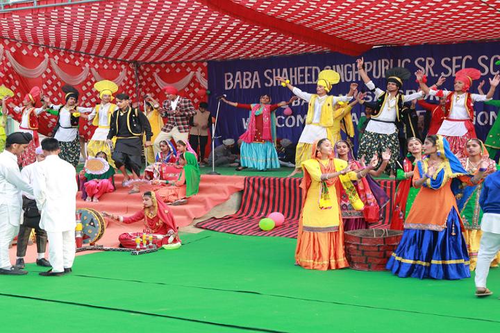 Baba Shaheed Singh Public School-Events