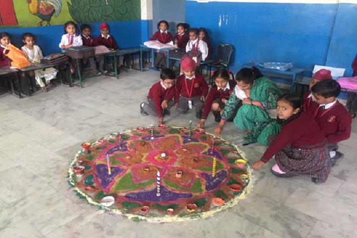 Baby Convent School-Rangoli