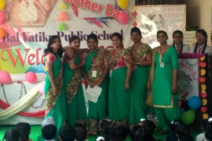 Bal Vatika Public School-Mother's day