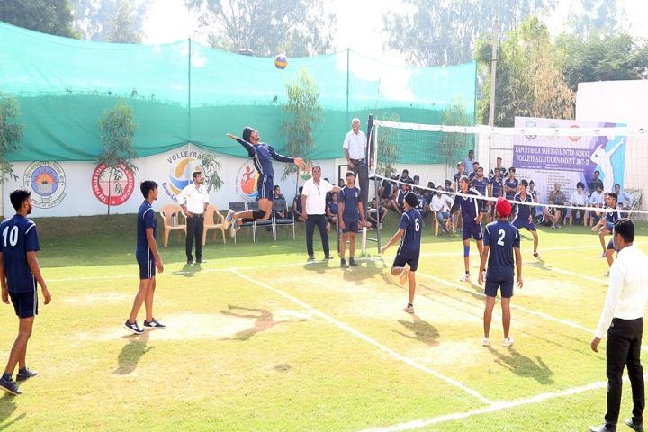 Bawa Lalvani Public School-Volley Ball