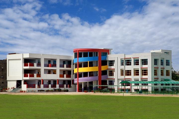 Bcm Arya Model School-Campus-View front