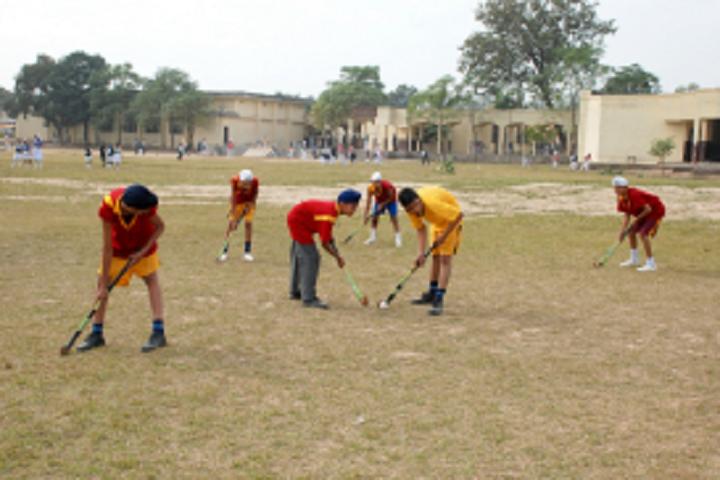 Bhai Nand Lal Public School-Sports golf