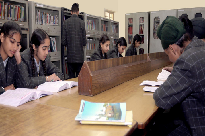 Bhai Roop Chand Public School-Library
