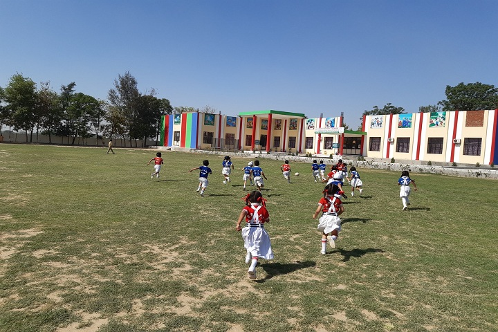Bhai Roop Chand Public School-Sports football