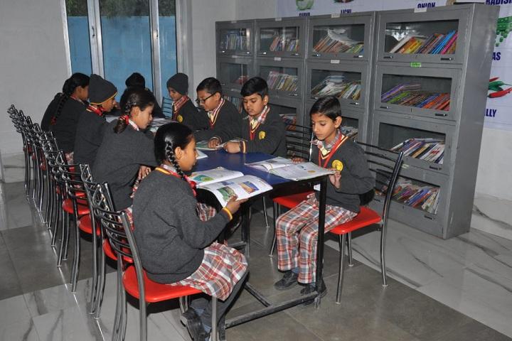 Bhartiya Public School-Library