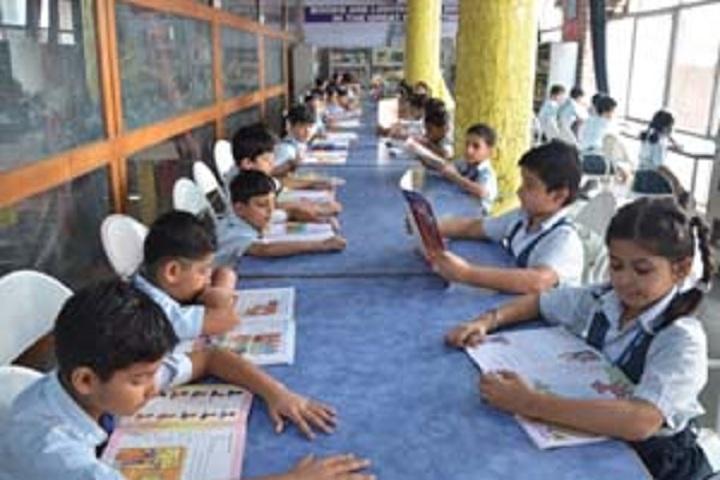 Bhartiya Vidya Bhawan Sachan Lal Public School-Library