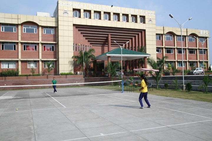 Bhupendra International Public School-Sports tennis