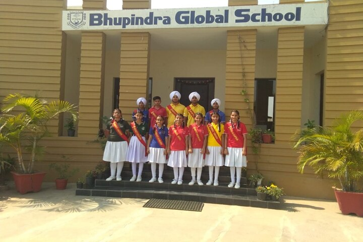 Bhupindra Global School-Cabinate Members