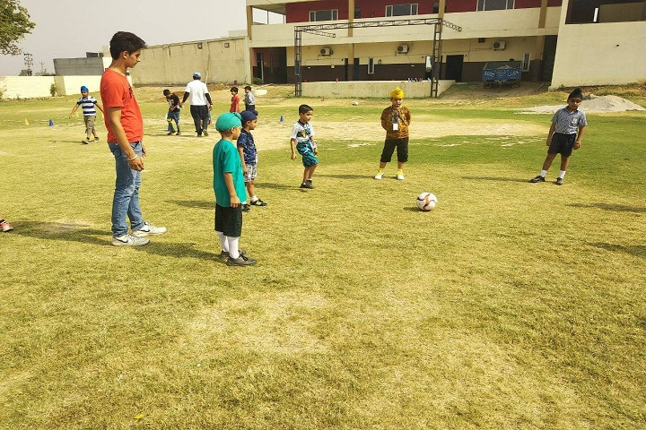 Bhupindra Global School-Sports football