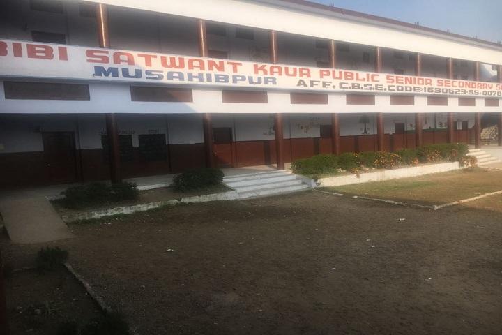 Bibi Satwant Kaur Public School-Campus-View