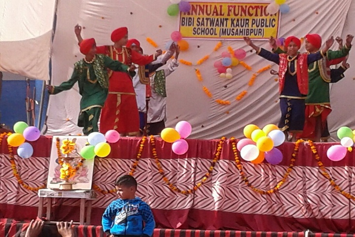 Bibi Satwant Kaur Public School-Events programme