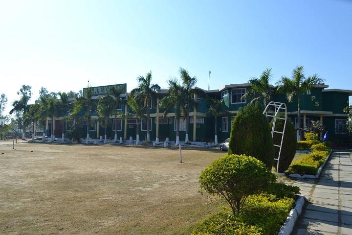 Bills Public School-Campus-View with playground
