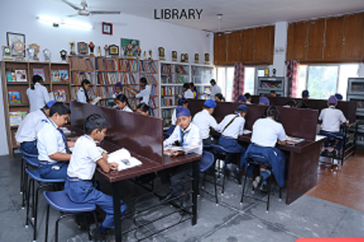 Bloosom Convent School-Library