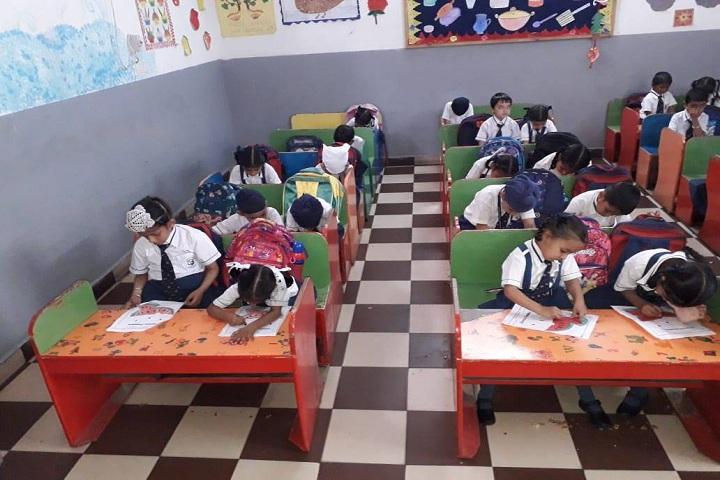 Bloosom Convent School-Classroom junior