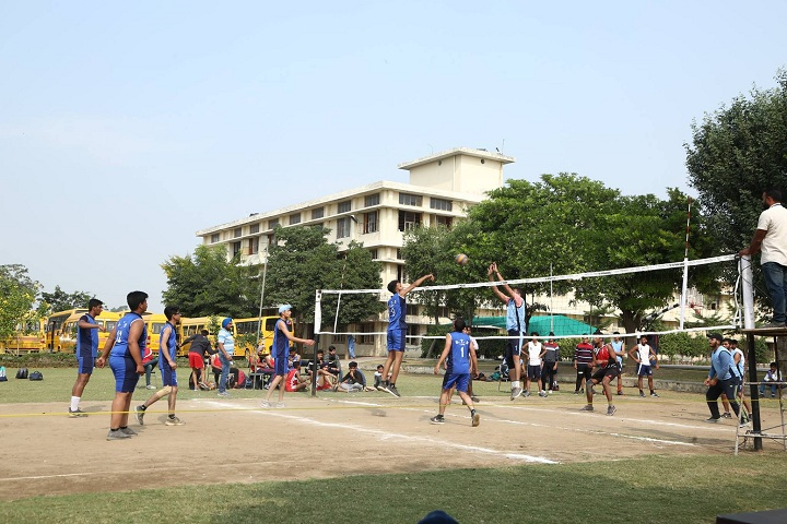 Bloosom Convent School-Sports vollyball