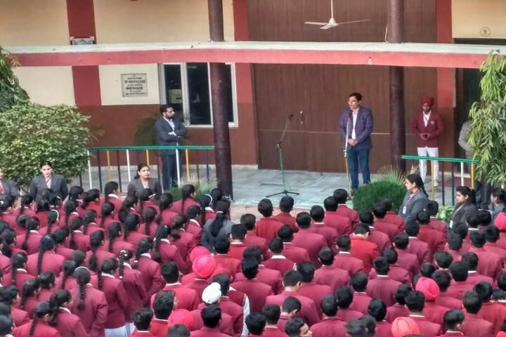 Brahmrishi Mission School-Assembly