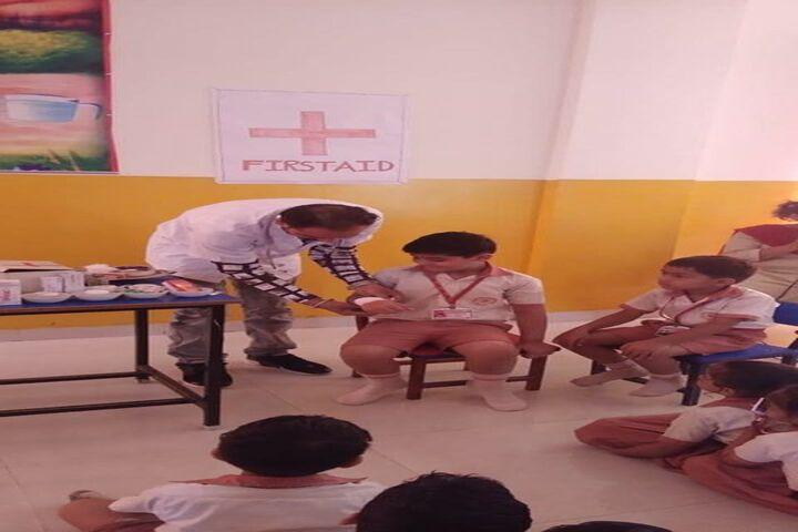 Brahmrishi Mission School-Health Check Up