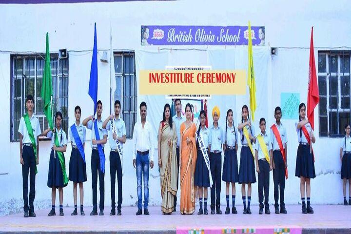 British Olivia School-Investiture Ceremony