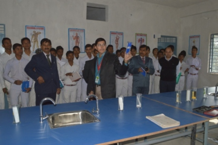 Gyandeep High School-Biology Lab
