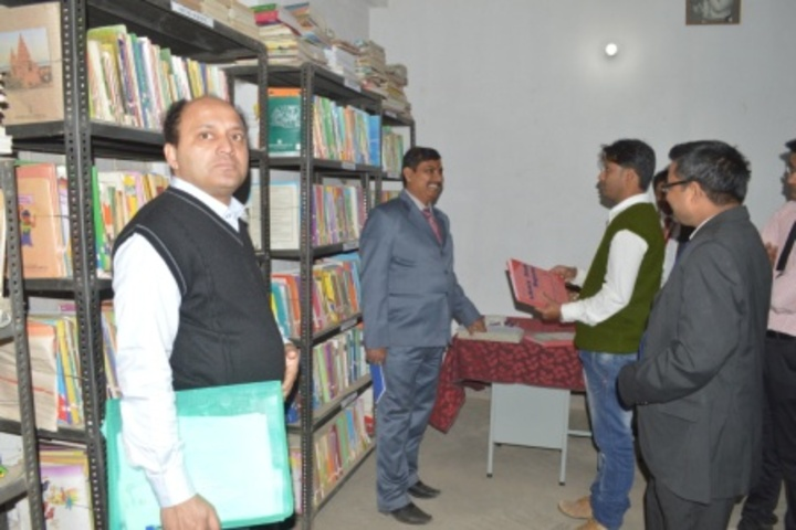 Gyandeep High School-Library