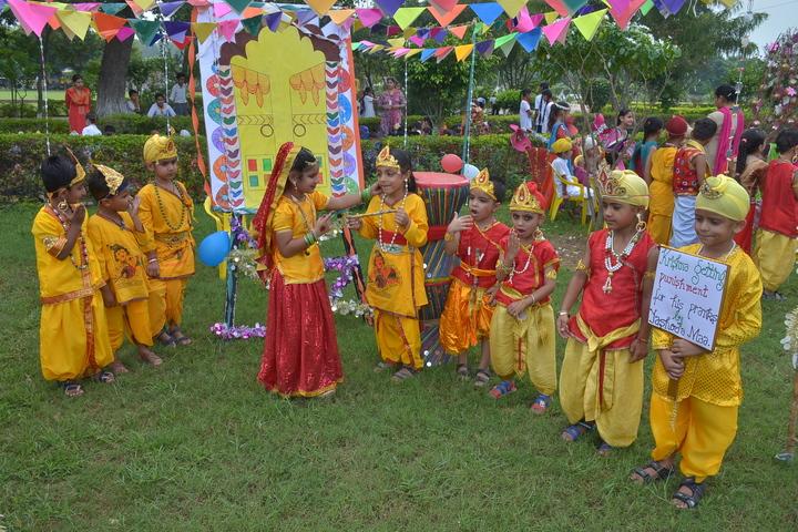 Budha Dal Public School-Janamashtmi Celebration