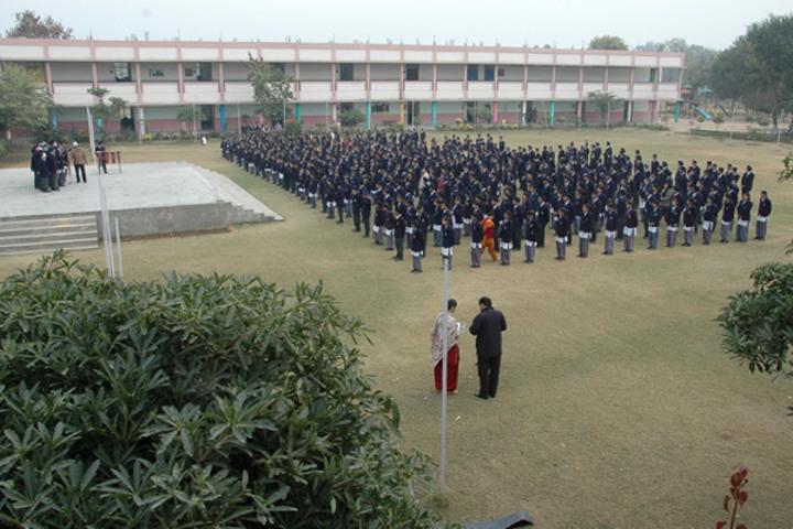 Budha Dal Public School-Morning Assembly