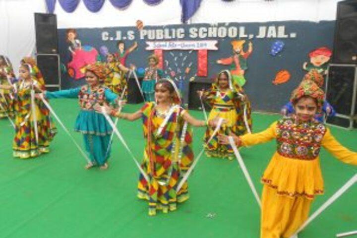 C J S Public School-Fete Dance