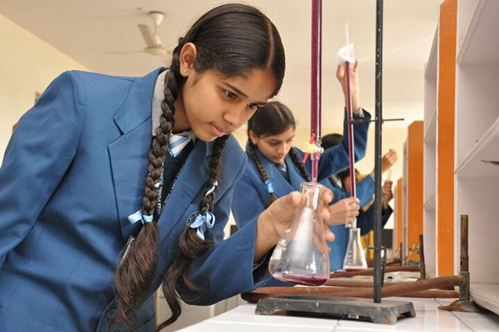 C T Public School-Chemistry Lab
