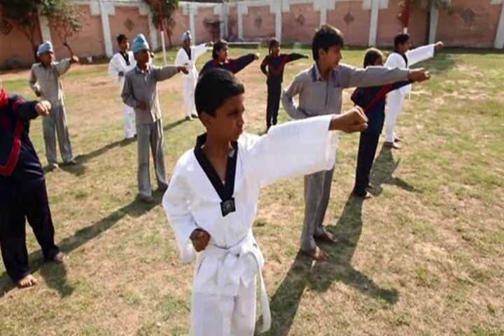 C T Public School-Karate