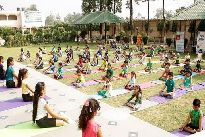 C T Public School-Yoga