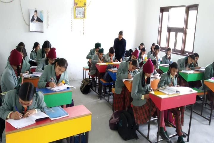 Cambridge Convent High School-Classroom