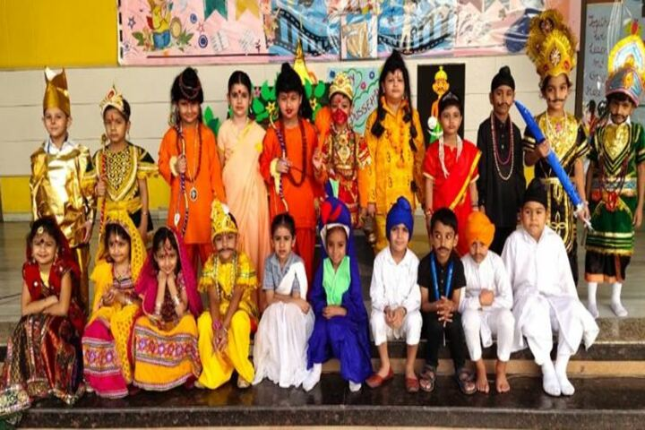 Cambridge International School-Fancy Dress