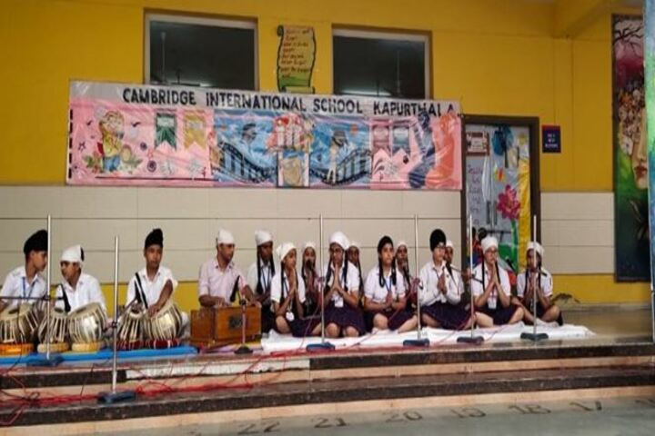 Cambridge International School-Music