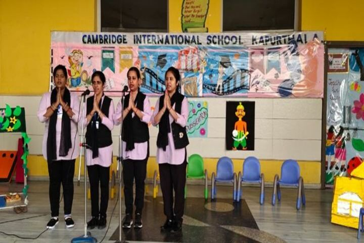 Cambridge International School-Singing