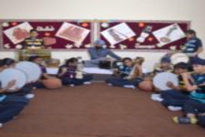 Cambridge International School-Music Room