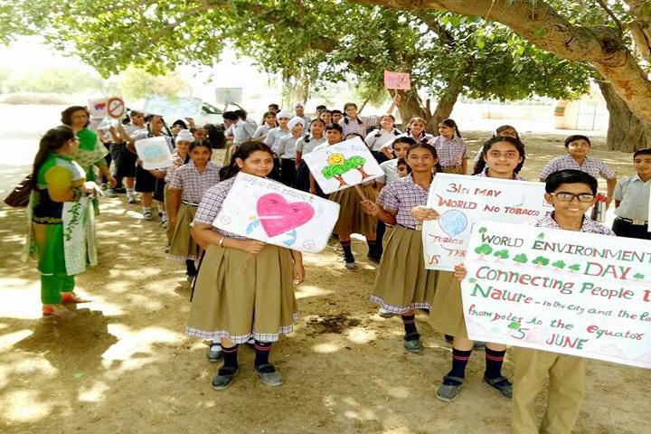 Ch Raghubir Singh Memorial Convent School-World Environment Day