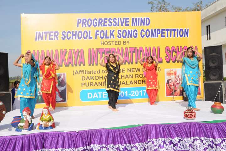 Chanakaya International School-Dance