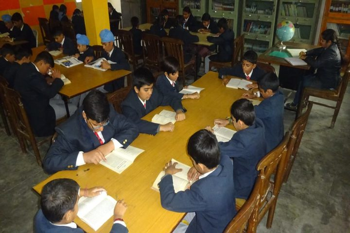 Chanakaya International School-library