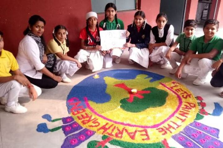 City Heart School-Rangoli