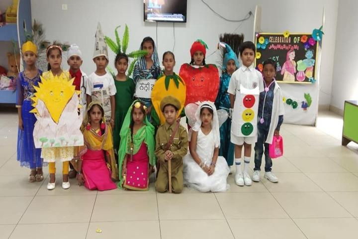 Cms Guru Kashi Public School-Fancy Dress Competition