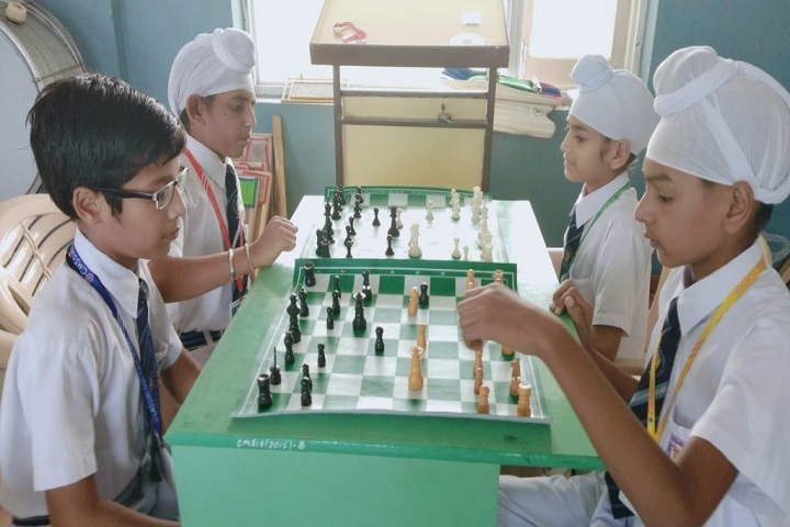 CMS Guru Kashi Public School-Indoor Games