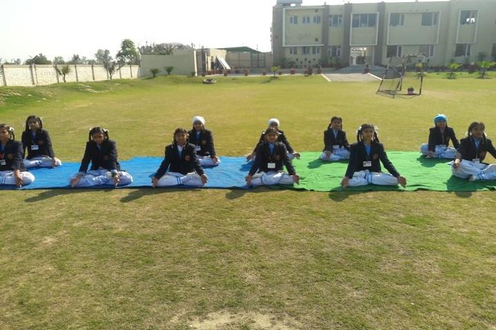CMS Guru Kashi Public School-Yoga Training