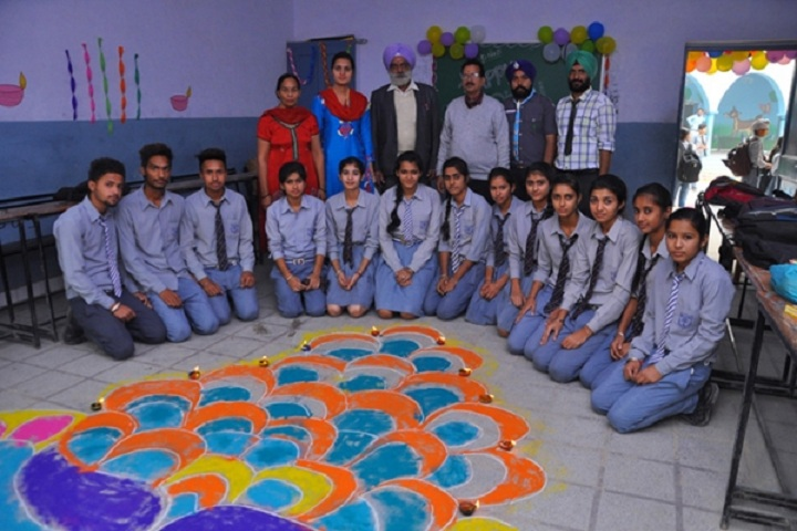 Colonel Public School-Rangoli Competition