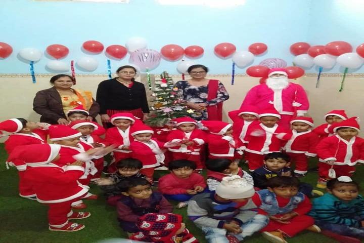 Comfy International Convent School-Chritmas Celebrations