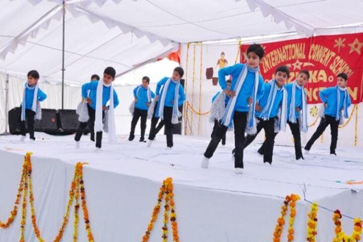 Comfy International Convent School-Dance Activity