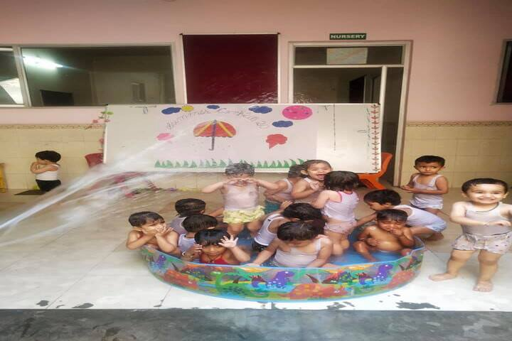 Comfy International Convent School-Swimming Pool Activity